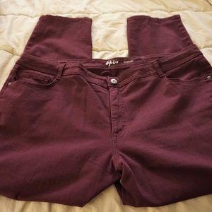 Style & Co. Plus Size Slim-Leg Jeans